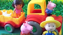 Dora Peppa Pig Barney Warren Cook And Caillou Get Sucked In