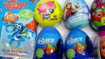 Finding Dory Toys Surprise ! Barbie, Shopkins, Frozen, Dory Eggs Surprise! Bóc Trứng Với WOB Kids !