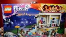 Lego Friends Livis Pop Star House Playset | Girlz 4 Life DVD | Play & Review