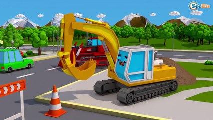 Caminhão curioso CAMINHONEIROS BOM DE VOLANTE - Desenho Animado Educativo
