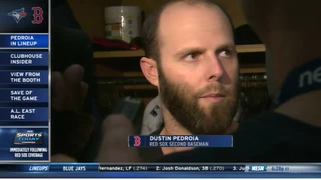 Red Sox First Pitch: Dustin Pedroia Back In Lineup