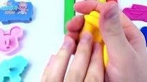 Et les couleurs Créatif amusement amusement girafe Apprendre masques moules souris jouer bague Joint la tour Doh mickey pj f