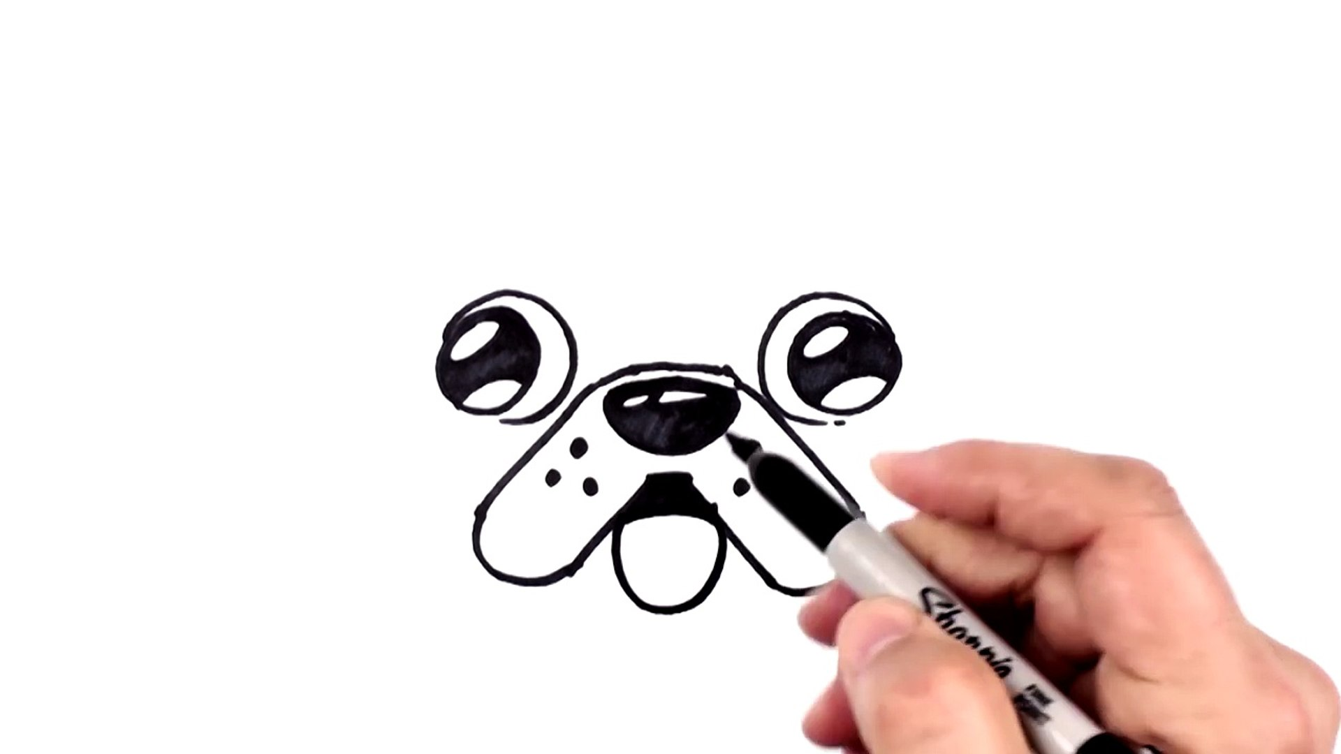 How To Draw A Cute Dog Emoji Pug For Beginners Step By Step Bp Video Dailymotion
