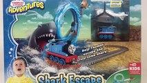 THOMAS & FRIENDS Adventures Shark Escape Train Fisher Price Learn Preschool STEM || Keiths Toy Box