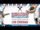 2015 USA Gymnastics Championships - Rhythmic Gymnastics - Day 1 (Jr./Sr.)