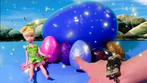 Disney BIGGEST EGG SURPRISE Jake and the NeverLand Pirates Toy Tinkerbell Tink Hook Jake Izzy Cubby