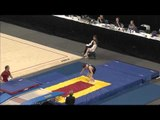 Garret Waterstradt - Double Mini Pass 2 - 2015 USA Gymnastics Championships