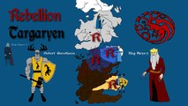 ASOIAF: Roberts Rebellion - History of Westeros Series