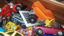 Drawers Full of cars, Lightning McQueen, Welly Cars, Siku Cars and More