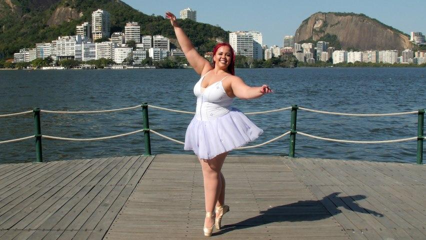 Plus-Size Ballerina Is \'On Pointe' | SHAKE MY BEAUTY