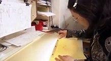 Melihat studio pembuatan anime/manga NARUTO