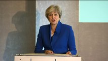 Theresa May says UK must continue 'deal with its debts'