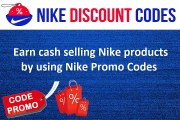 Earn cash selling Nike products by using Nike Promo Codes