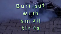 Burnout with small Tires - 1:5 RC Cars - HPI Baja 5b - Petrol / Benzin