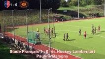 Championnat National 2017/2018 : 3ème Journée - Elite Dames - Stade Français vs Iris Hockey Lambersart