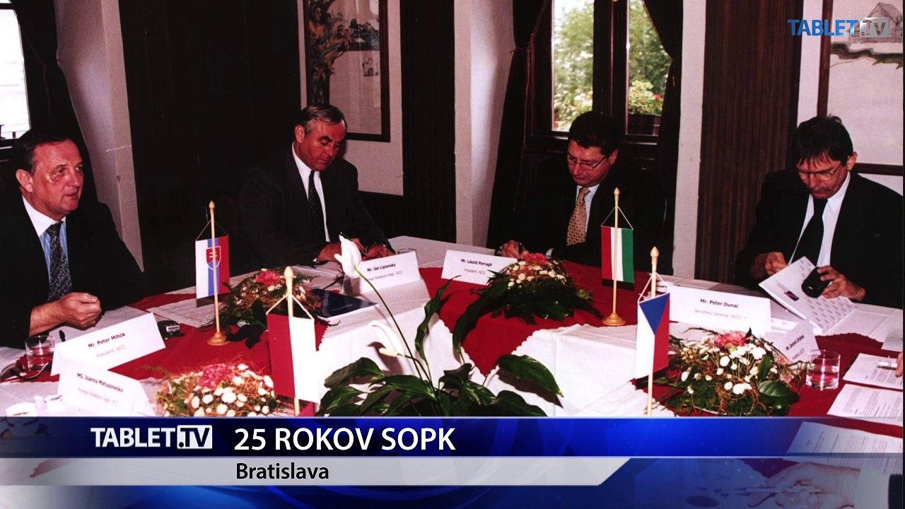 SOPK si v tomto roku pripomína 25 rokov od svojho založenia