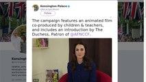Les premiers mots de Kate Middleton depuis l'annonce de sa troisième grossesse
