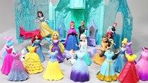 Disney Princess Frozen Elsa Magic Clip Dolls dresses Toys Part II