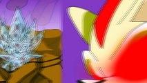 Dark Sonic vs Metallix, Nazo and Sonic Exe Power Levels