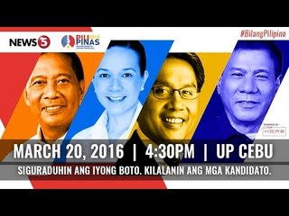 PiliPinas Debates 2016 - Radyo5 Live Commentary with Atty. Mel Sta. Maria