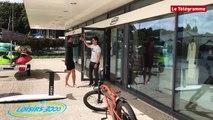 Brest. Surf foil : tracté par un vélo au Moulin-Blanc !