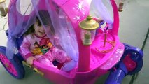 Disney Princess Videos Carriage RIDE-ON Cinderella Coach POWER WHEELS TOY The Disney Toy Collector
