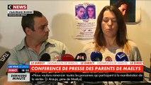 Disparition Maëlys - La maman de la fillette, au bord des larmes, demande au suspect de dire la vérité