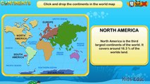 7 Continents - Geography For Kids, The Formation of Continents, Educational cartoons