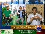 Shoaib Akhtar Making fun of Misbah ul haq batting
