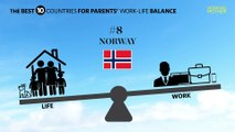 The 10 Best Countries for Parents' Work-Life Balance
