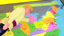 Frozen Competition Disney Anna & Kristoff LeapFrog US MAP Barbie Parody AllToyCollector