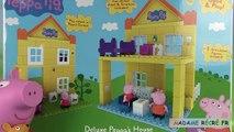 Peppa Pig Blocks Jeu de construction Maison de luxe Peppas Deluxe House Construction Set