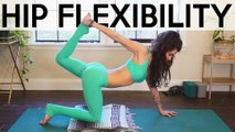 Beginners Yoga for Flexibility with Julia   Hip Stretches, Pain Relief, Yoga Class 40 Minutes