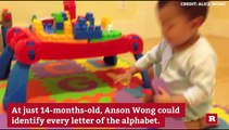 Anson Wong, boy genius, scores exceptionally high on IQ test