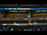 Jordan Chiles - Balance Beam - 2017 P&G Championships - Senior Women - Day 1