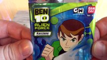 Ben 10 Alien Force Collectible Card Game 3 Booster Pack Unboxing TCG