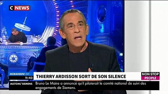 """Morandini Live - Thierry Ardisson: """"Je vais pas m'arrêter d'être Thierry Ardisson sous prétexte que l'époque est devenue"""
