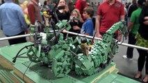 LEGO WWII Brandenburg Gate Brickmania   Brickworld Indy 2016