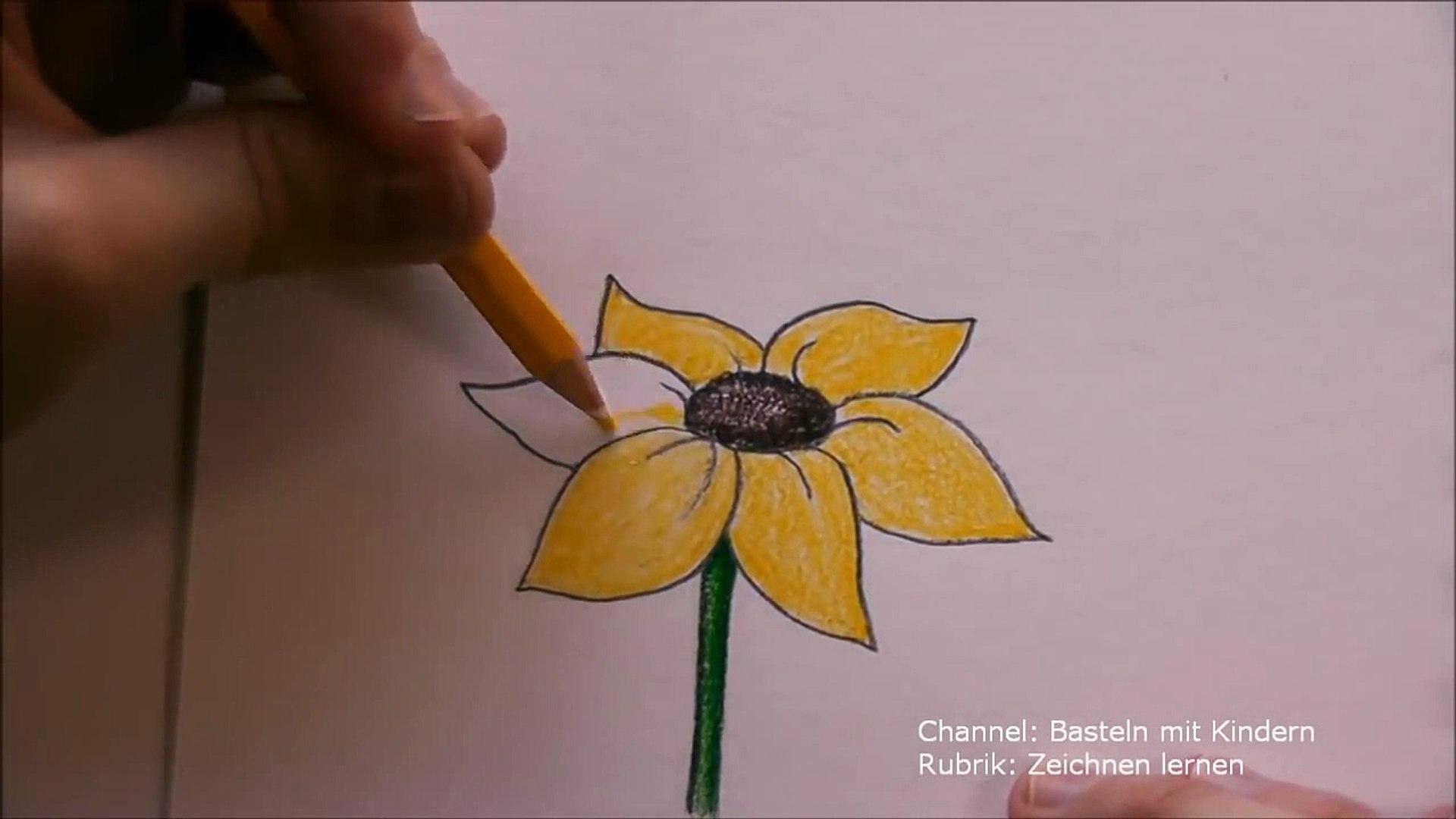 Wie Zeichne Ich Einen Tannenbaum.Zeichnen Lernen Blume Zeichnen Blumen Malen Lernen