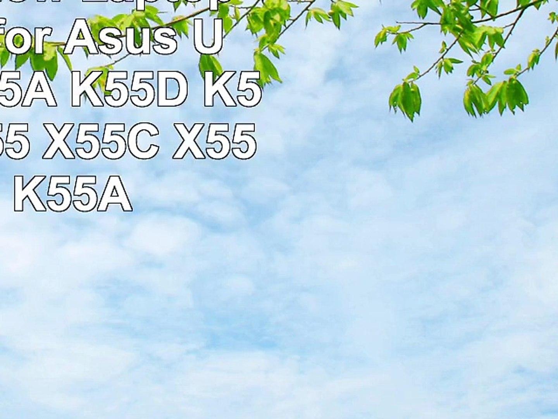 EasyFine New Laptop Batteries for Asus U57A K55 K55A K55D K55N K55V X55 X55C X55U X75