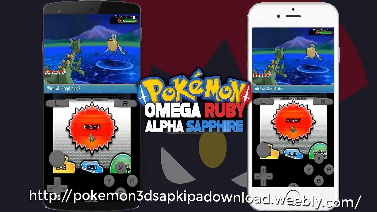 Descargar pokemon zafiro alfa para android en espaol