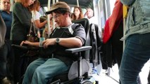 Fait du Jour : Handicap  dans nos villes, c'est encore le parcours du combattant.