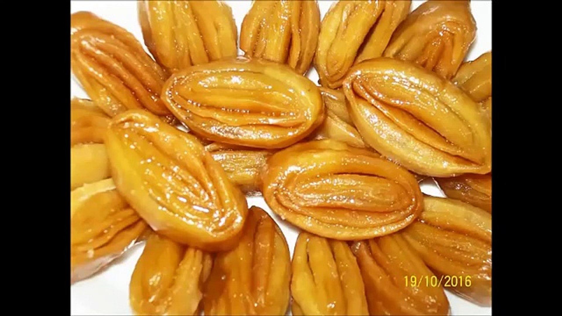 Madatha Kaja recipe in Telugu - How to make Madatha kaja