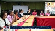 P21 na dagdag-sahod sa mga manggagawa sa Metro Manila, ipatutupad na sa October 5