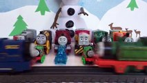 Olafs Snowman Competition - Thomas and Friends Worlds Strongest Engine