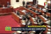 Reacciones tras encuesta de Proética sobre corrupción en el país