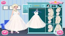 Princess Elsa & Anna Wedding Party w/ Jack Frost & Kristoff - Disney Frozen Dress Up Games For Girls