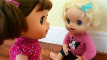 Baby Alive Daisy Comes To Life! - Baby Alive Turned Into A Real Little Girl!
