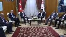 KKTC Başbakanı Özgürgün Akdağ'ı Kabul Etti