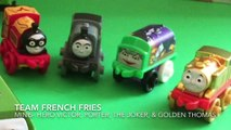 Thomas & Friends Minis Trip to McDonalds Worlds Strongest Trackmaster Team